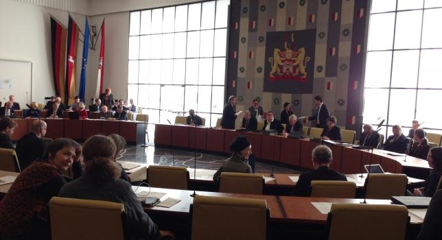 Sitzung der Ratsversammlung. Hannover