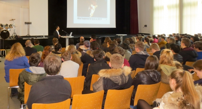 The Syrian Refugee Crisis at the International School Hannover