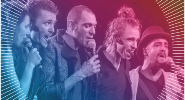 Musical Workshop for Refugees- Body-pop meets Rap: Humanophones (fr) & Spax (d)